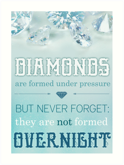 Diamonds Are Formed by fridaylovesong