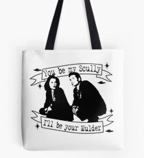 X Files  Tote Bag
