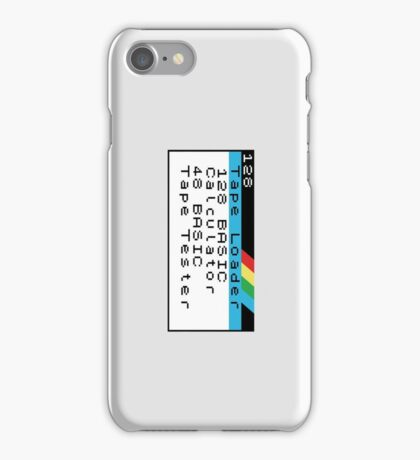 ZX Spectrum 128K iPhone Case/Skin