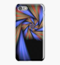 Softly Striped Loner iPhone Case/Skin