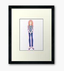 Mrs. Pond (Pink) Framed Print