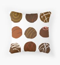 I Love Truffles Throw Pillow