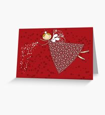 Magical Snowflakes Fairy Greeting Card