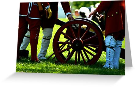Soldiers at the Cannon by 365Londontown