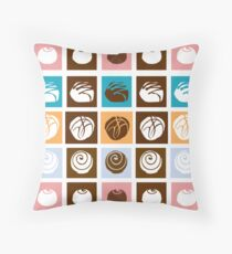 Pop Truffles Throw Pillow