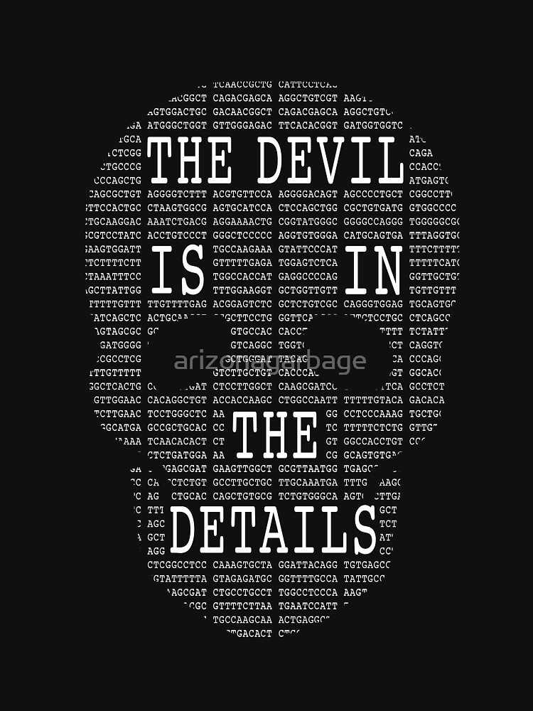The Devil Is In The Details by arizonagarbage