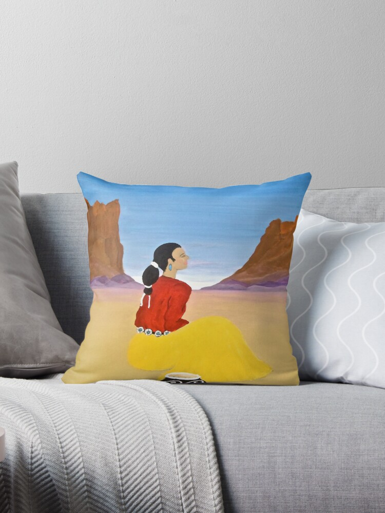 Contemplation Pillow and Tote Bag by Shulie1