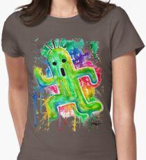 Cute Cactuar - Running Watercolor - Final fantasy - Jonny2may - Awesome!  T-Shirt