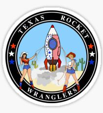 Texas Rocket Wranglers Sticker