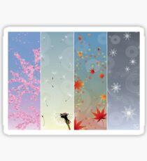 Seasonal Sticker
