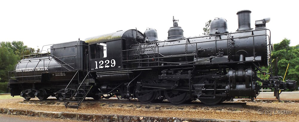 Southern Pacific Locomotive by Greg Lester