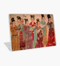 """XIAN TIANG DYNASTY"" Antique Chinese Print Laptop Skin"