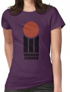 Retro Cricket Womens Fitted T-Shirt