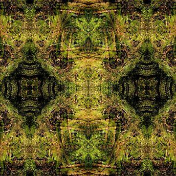 Jaguar Forest - A Meditative Pattern by mikeroutliffe