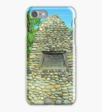 The Captain Cook Cairn iPhone Case/Skin