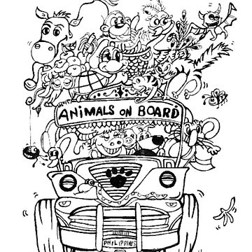 Animals on Board by grazemee