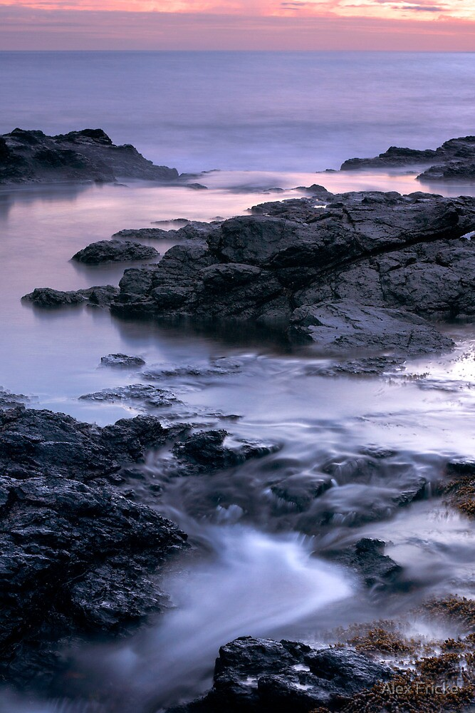Fading Light at the Blowhole by Alex Fricke