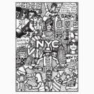 N.Y.C by edwin rivera