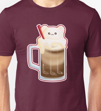 Cute Root Beer Float Ice Cream Bear Unisex T-Shirt