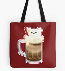 Cute Root Beer Float Ice Cream Bear Tote Bag