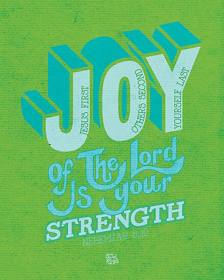 Joy of the Lord by Rachel Krueger