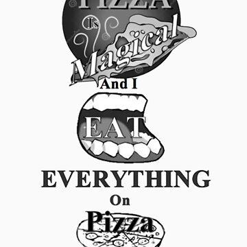 Pizza is Magical by spacegiraffes