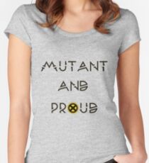 Mutant & Proud Women's Fitted Scoop T-Shirt