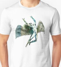 ICARUS THROWS THE HORNS - summer beach ***FAV ICARUS GONE? SEE BELOW*** T-Shirt