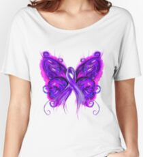 Purplfly Women's Relaxed Fit T-Shirt