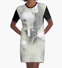 UP TOWN FACET II Graphic T-Shirt Dress