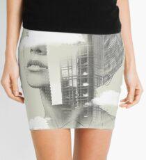 UP TOWN FACET II Mini Skirt