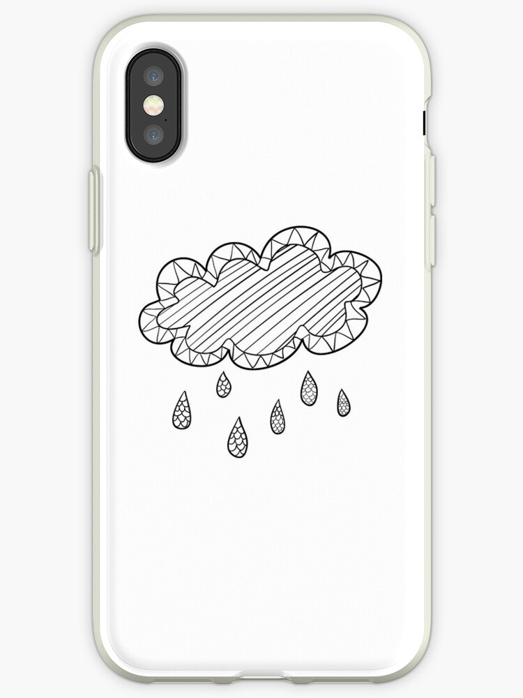 Cloud Iphone Case by ExaltedApparel