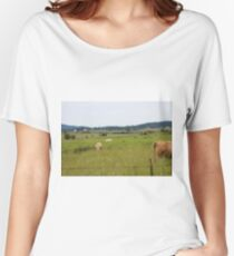 Cows in a field Women's Relaxed Fit T-Shirt