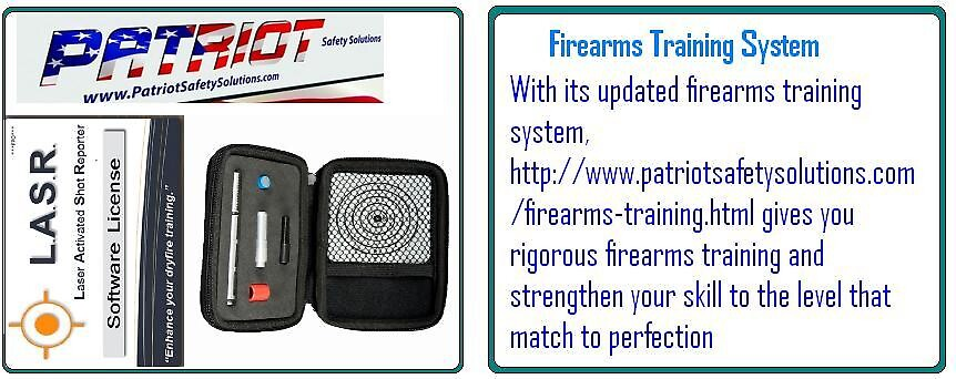 Firearms Training System - www.patriotsafetysolutions.com by patriotsafetys