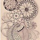 Tangled Art Circles by Christianne Gerstner