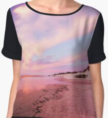 West Beach - Adelaide, South Australia Women's Chiffon Top