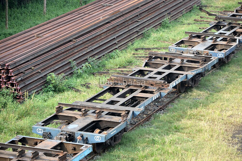 train railway by bayu harsa