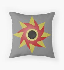 Weeping Emblem (Pain) P/B - Grey Throw Pillow