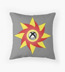 Weeping on One P/B - Grey Throw Pillow
