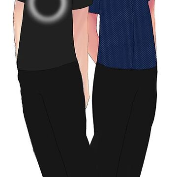 Dan And Phil Glow Shoes by theamazingmarco