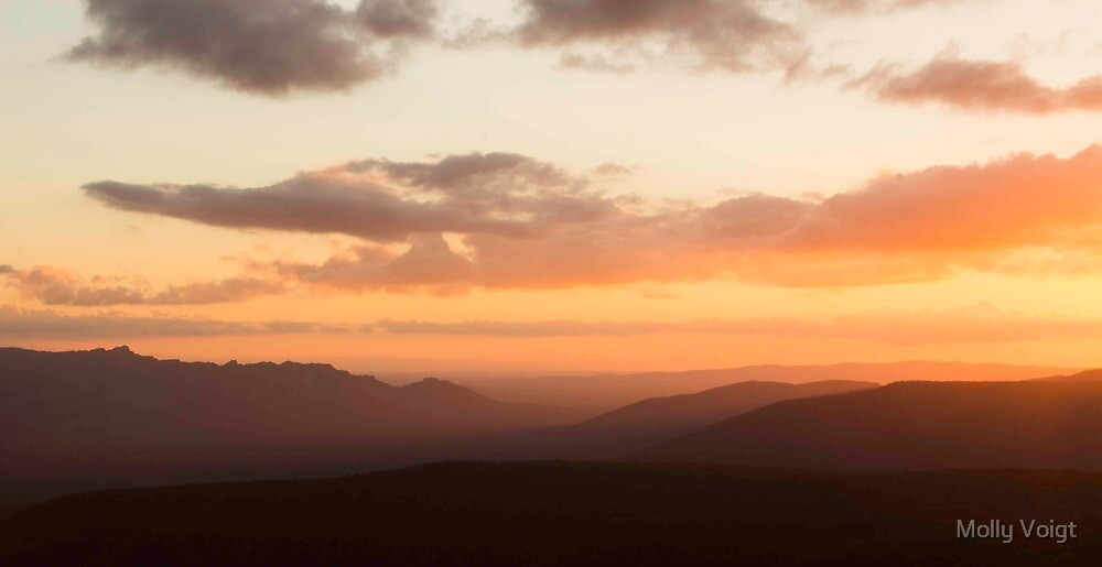 Grampians Sunset by Molly Voigt