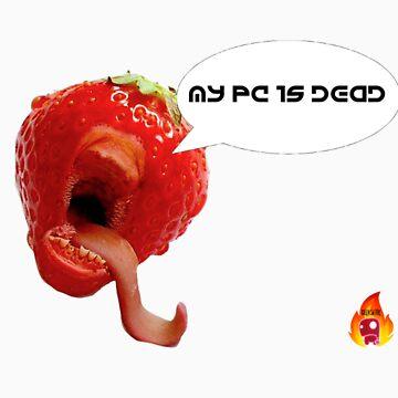 strawberry Geek by GeeksFire