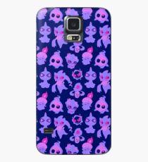 Geister Pokemon Muster Hülle & Skin für Samsung Galaxy