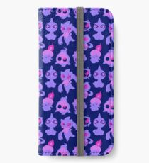 Ghost Pokemon Pattern iPhone Wallet/Case/Skin