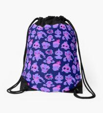 Ghost Pokemon Pattern Drawstring Bag