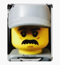 Lego Janitor minifigure iPad Case/Skin