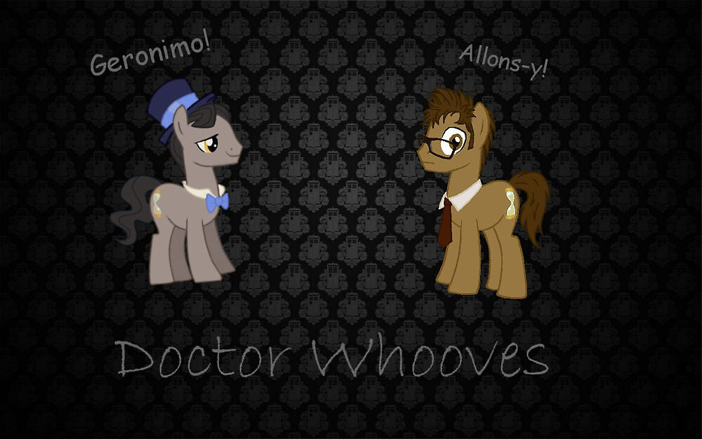 Doctor Whooves Poster by Kittydemon666
