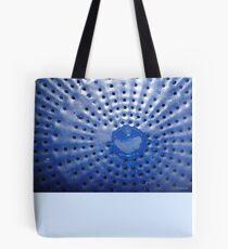 Blue Strainer Tote Bag