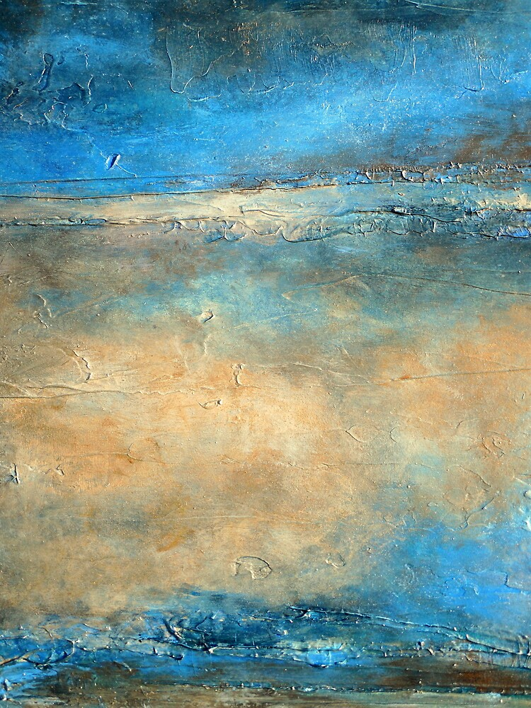 Abstract Painting by Artist Holly Anderson DEWPOINT  by hollyanderson