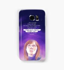 Never forget Donna Noble Samsung Galaxy Case/Skin